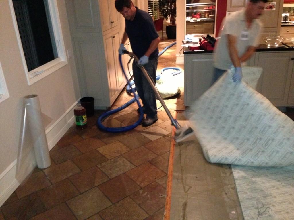 Carpet Padding and Raw Sewage