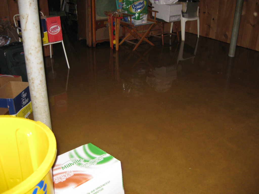 Flooded Basement San Diego